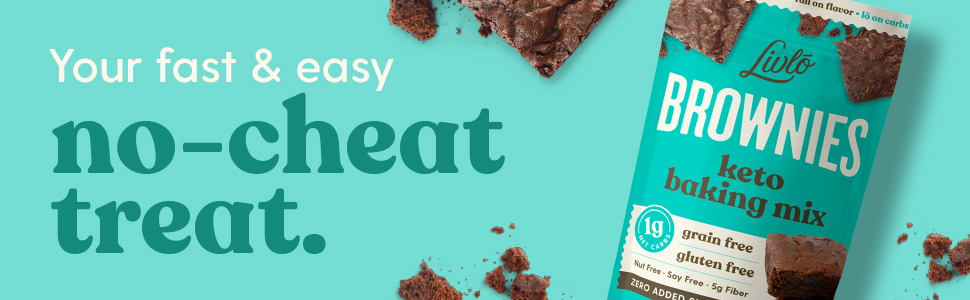 fast and easy keto brownie baking mix no-cheat treat 1g net carb