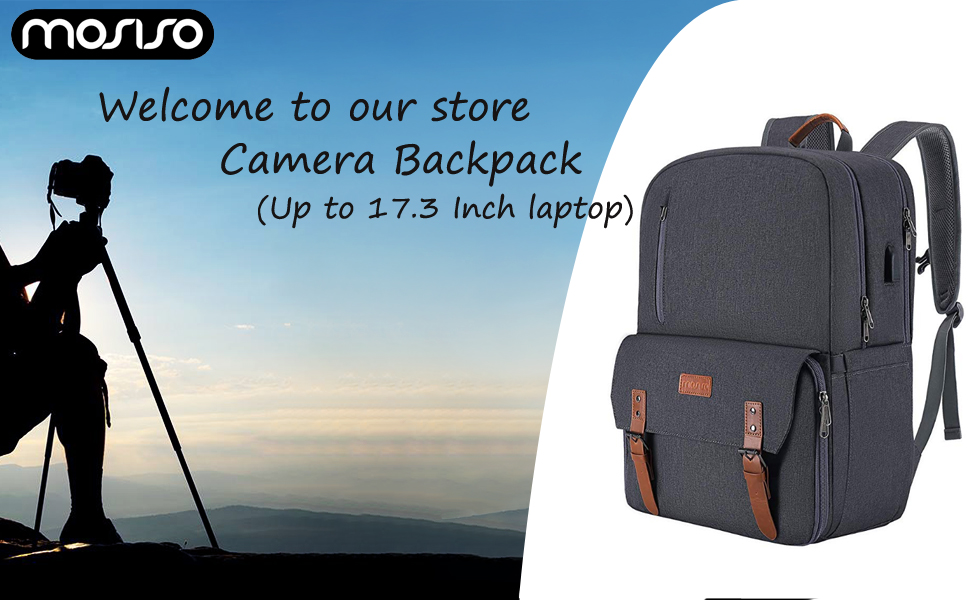 17.3 inch Camera Backpack