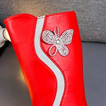 adorable rhinestone butterfly