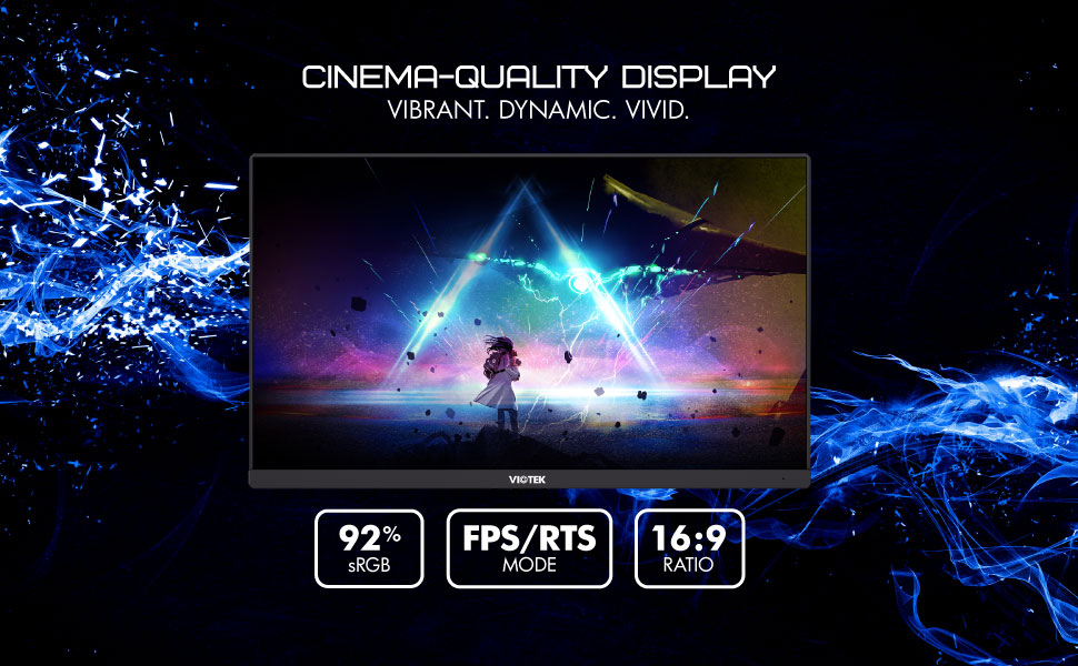 ultra-fast, responsive 144Hz refresh rate