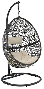 Caroline Hanging Egg Chair with Stand