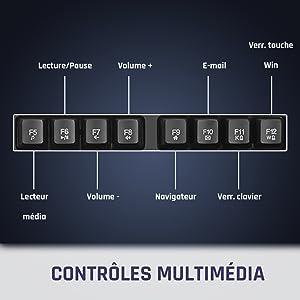 clavier gamer, clavier, clavier mecanique, clavier gaming, gaming