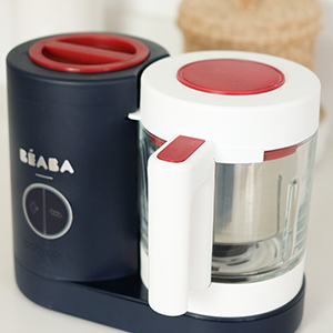 beaba food process neo baby food maker steamer blender baeba