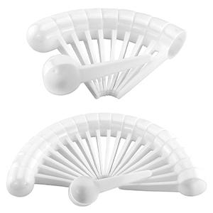 cornucopia plastic white scoops tablespoon food safe measuring