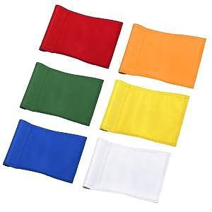 golf flag color