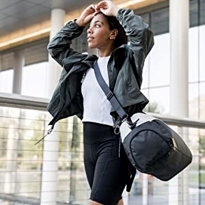 designer fashion small medium large pocket zip mesh adjustable collapsible big shoe pocket water