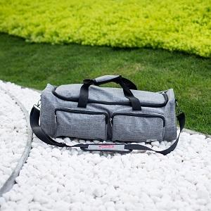 Outdoor scene of carrying case