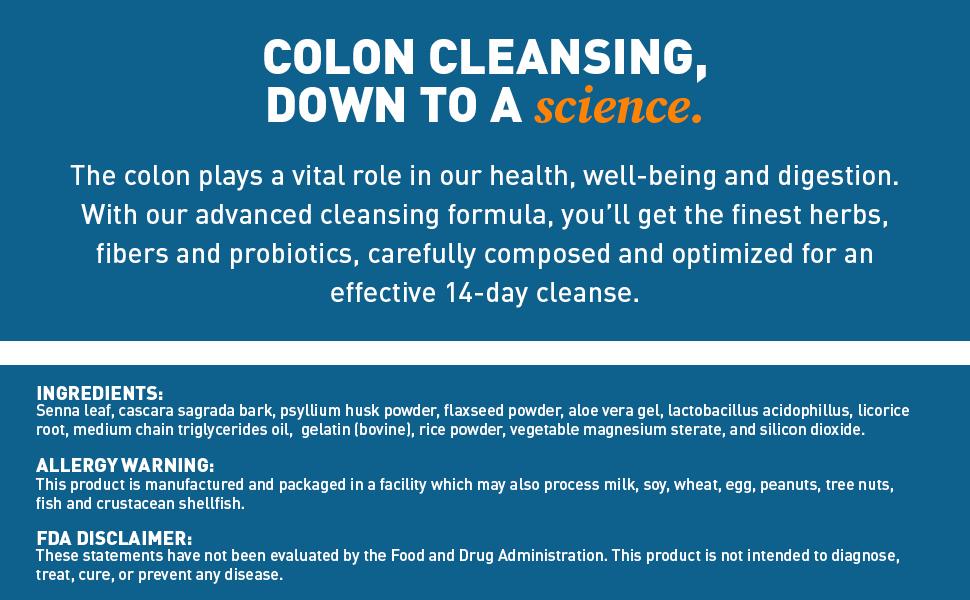 It Works Cleanse Ingredients