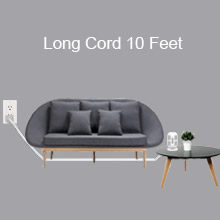 long cord power strip