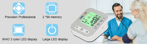 AISHCES Electronic blood pressure monitor