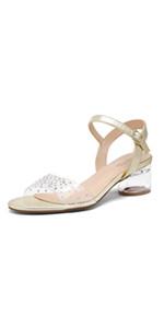 High Stiletto Open Toe Platform Heel Sandals