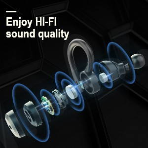 Enjoy HI-FI sound quality