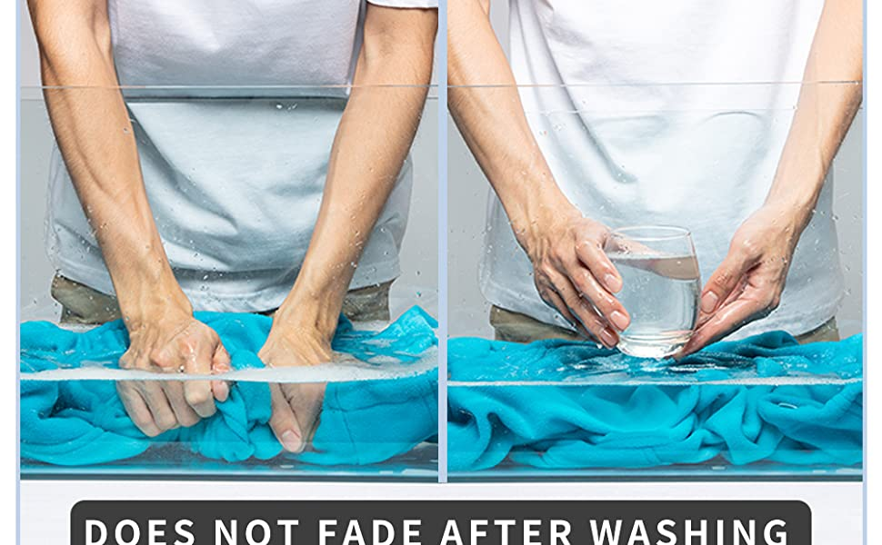 Does not fade after washing
