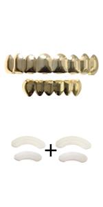 8 teeth grillz
