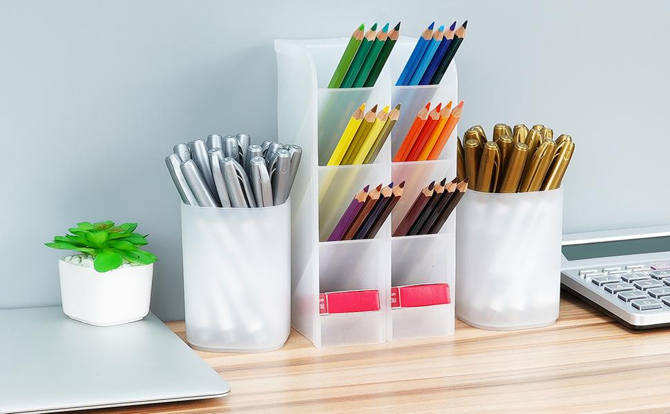 desk organizer pencil holder storage box