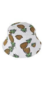 Cappello secchio ananas