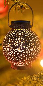 solar lanterns outdoor hanging flickering lights