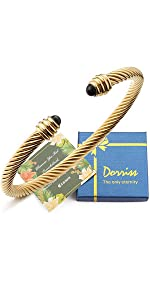 cable cuff bracelets