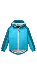 Girl's Hooded Ski Jacket