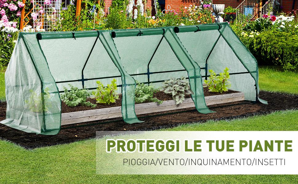 PROTEGGERE le tue piante