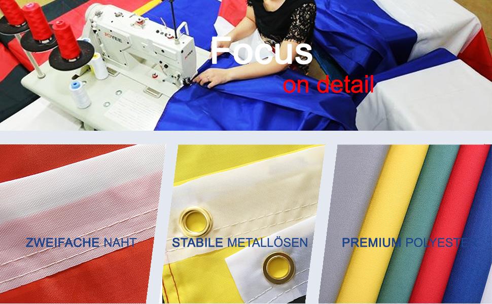 Wei/ß 90 x 150 cm Star Cluster 90 x 150 cm Flagge Fahne Wei/ß zum bemalen//White Flag for Painting