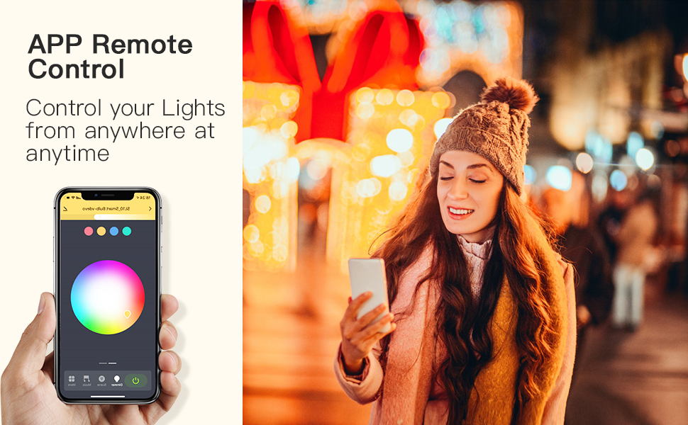 app remote control  lights
