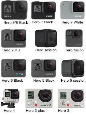 action camera accessory kit