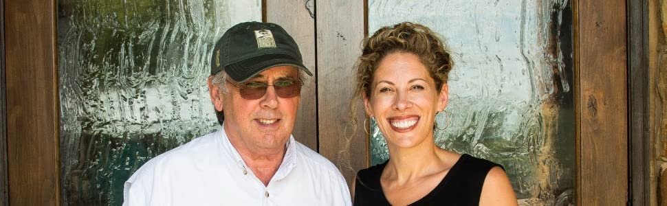 Texas Hill Country Olive Co owners and operaters, father daughter duo
