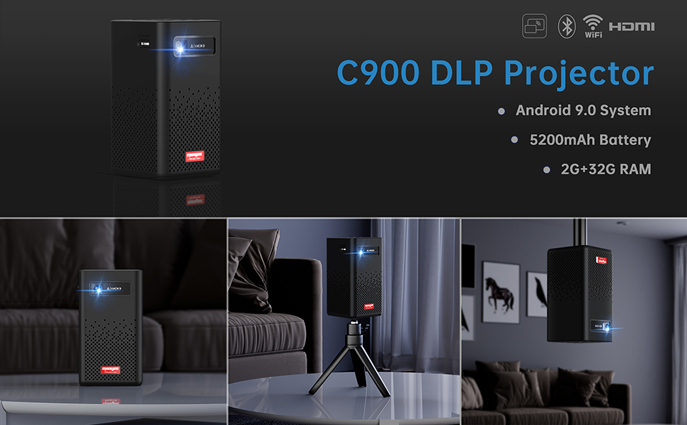 C900 DLP Projector