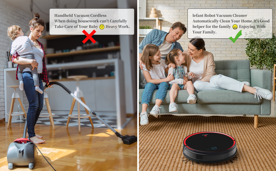Handheld vacuum cordless VS Robot Vacuum