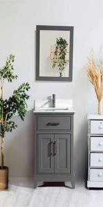 single sink bathroom vanity storage cabinet rectangle stone top