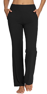 sweatpants for women workout sweatpants for women yoga sweatpants for women bootleg with pockets