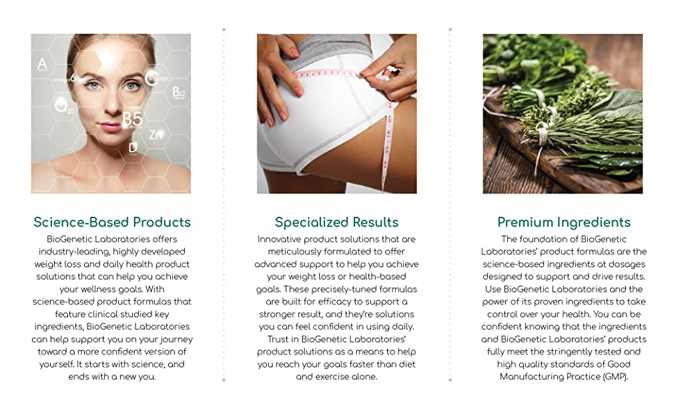 Science based products designed to support weight loss as part of a healthy lifestyle