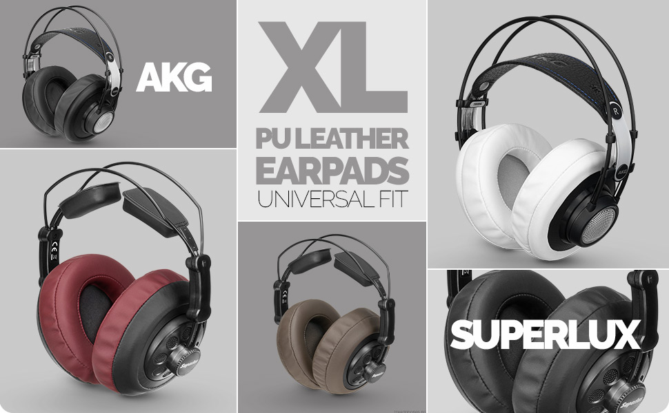 Fostex Philips Sony AKG Brainwavz XL Micro Suede Upgrade Earpads For AKG 701 /& Suitable For Many Other Headphones HifiMan Sennheiser ATH