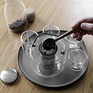 VIVA Scandinavia - Glass Teapot Set