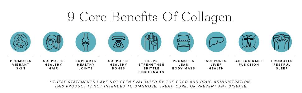 9 benefits of collagen