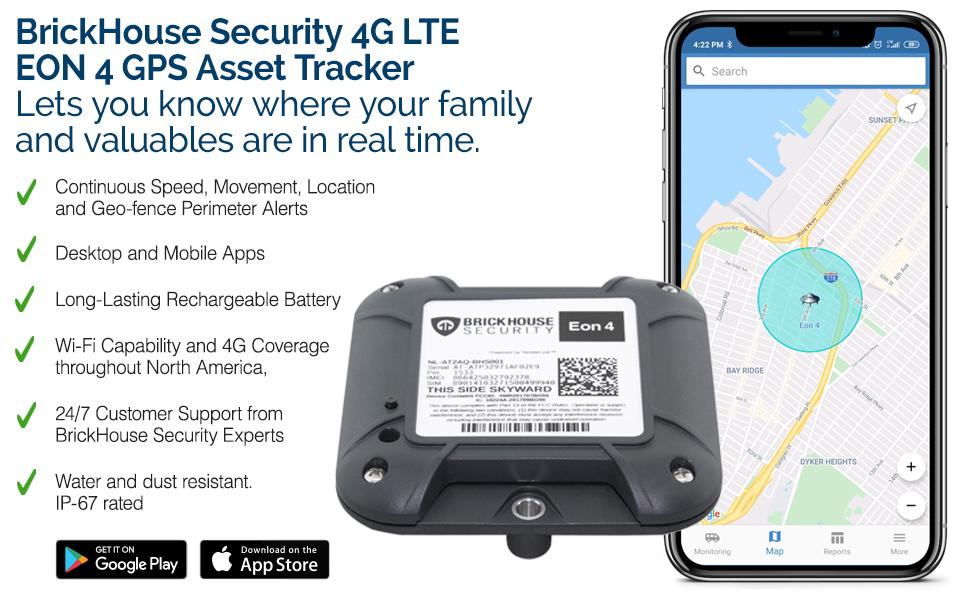BrickHouse Security EON 4 Tracker