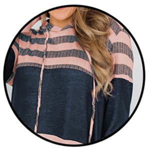 Color block design and striped