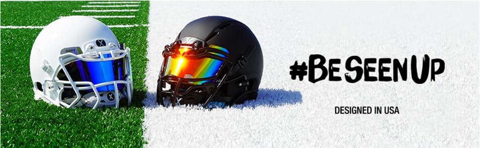 Football Helmet Eye Shield Visor