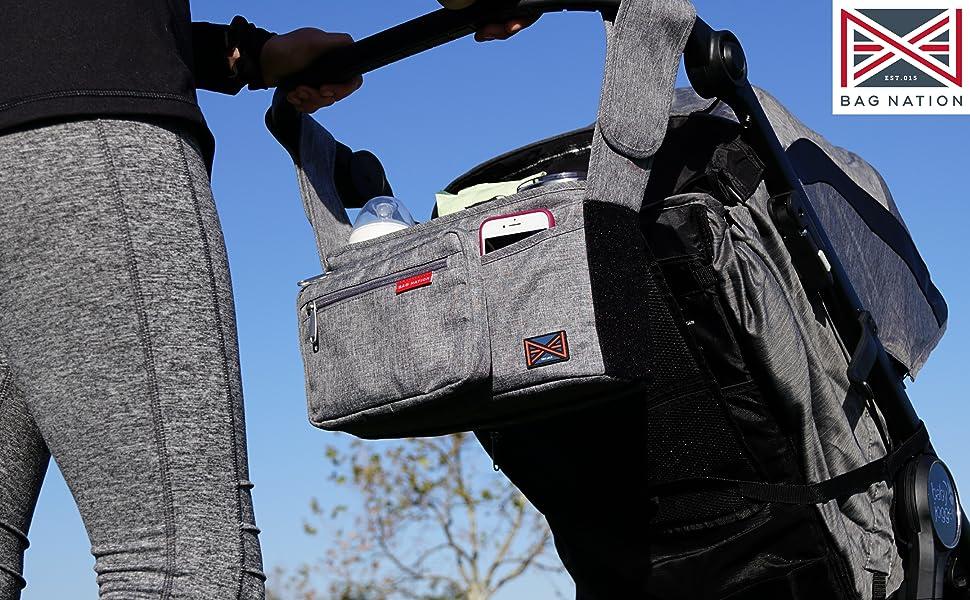 bag nation stroller organizer