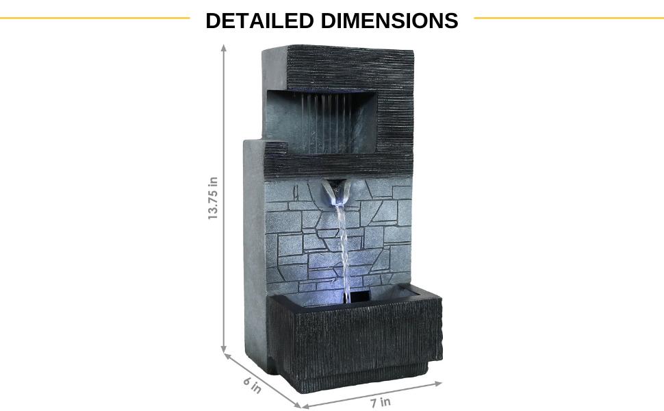 polyresin tabletop indoor fountain, polyresin indoor tabletop water feature, water feature, fountain