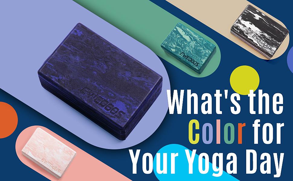 yoga block 2 pack