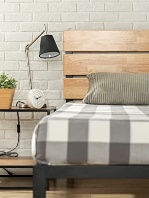 Zinus Paul Timber Wood Bed base frame cheap online australia queen single double king