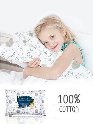 toddler pillow pillows pillowcase pillowcases case kids baby infant sleeping for children sleep nap