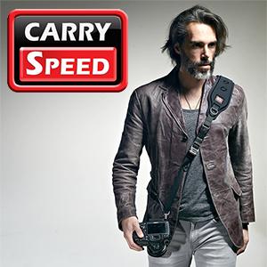 カメラストラップ 一眼レフ ストラップ 速写ストラップ Carry Speed
