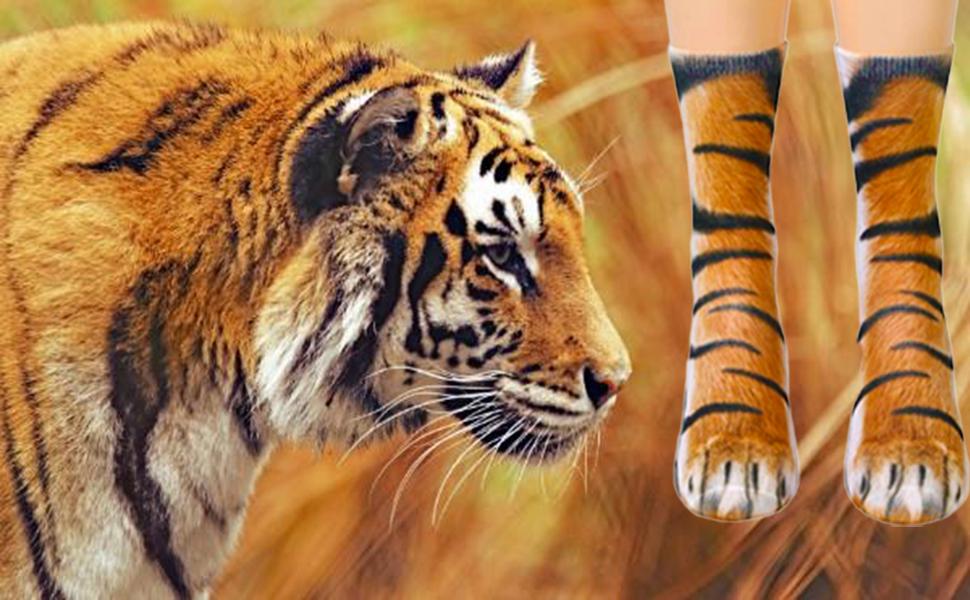 tiger paw socks