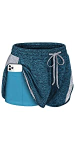 athletic shorts for women with pockets