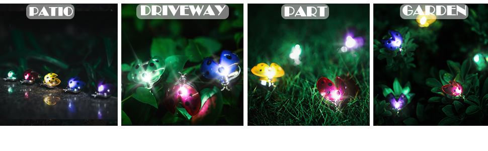 Garden Backyard Lights