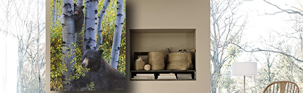 Keeping Watch amazon banner staging living room decor