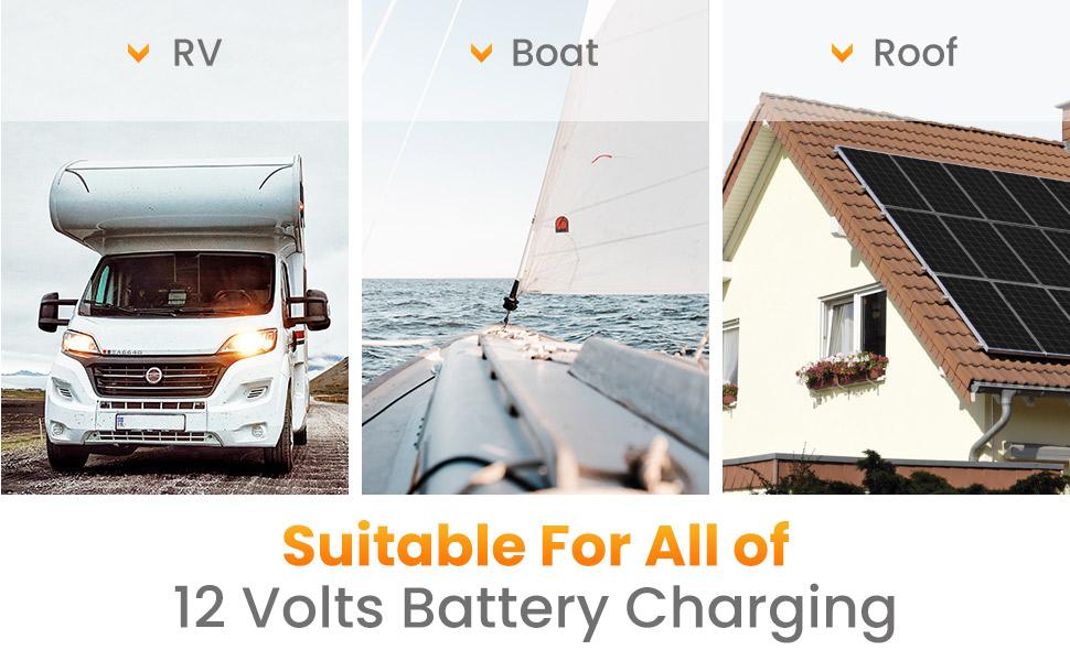 solar panels kit 12v